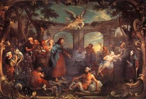 William Hogarth - La piscine de Bethesda