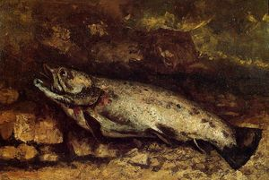 Gustave Courbet - The Trout 1