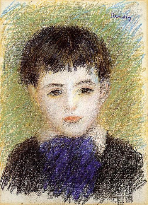 famous painting Portrait de Pierre of Pierre-Auguste Renoir