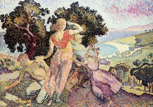 Henri Edmond Cross - Etude pour Excuirsion