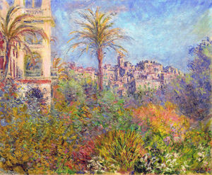 Claude Monet - Villas à Bordighera 03
