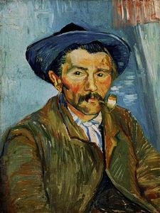 Vincent Van Gogh - The Smoker (paysan)