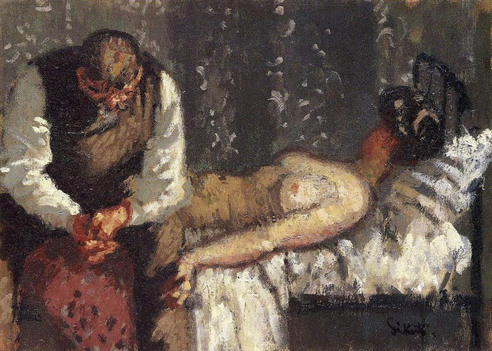 famous painting La Ville Assassiner Camden, ou Que ferons-nous pour le loyer? of Walter Richard Sickert