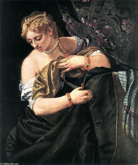 famous painting Lucrèce of Paolo Veronese
