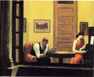 Edward Hopper - Chambre à New York