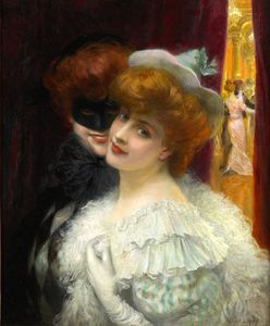 Albert Lynch - le bal Mascarade .