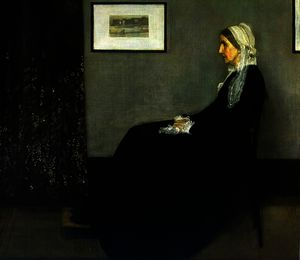 James Abbott Mcneill Whistler - Arrangement en gris et noir