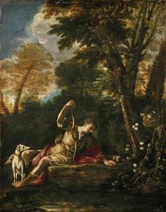 Pier Francesco Mola - Echo et Narcisse