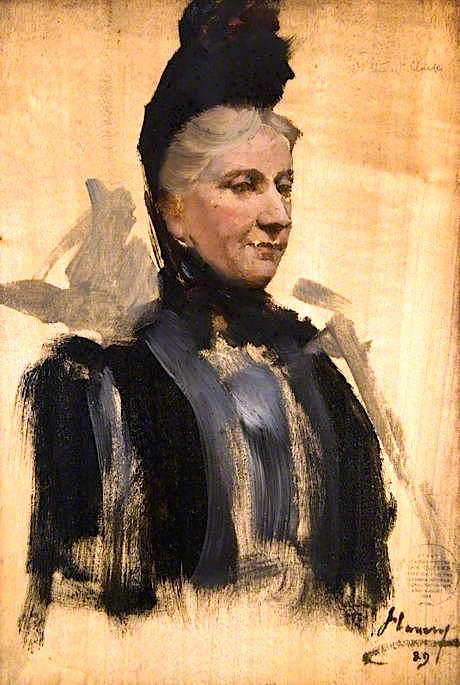 famous painting mme stewart clark esquisser  of John Lavery